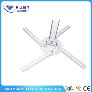 Hot Sale White 360 Rotating Retractable Projector Mount pictures & photos