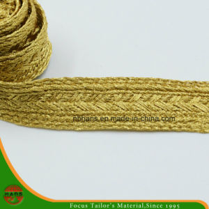 Golden Color Woven Tape-Hshd-07 pictures & photos