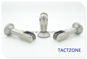Factory Directly Zinc Alloy Toilet Cubicle Partition Fittings Adjustable Holder pictures & photos