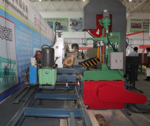 Electricity Automatic Vertical Wood Band Sawmill/ Homemade Automatic Band Saw pictures & photos