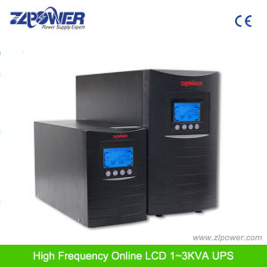 Intelligent UPS System 1kVA-3kVA 0.8 Power Factor High Frequency pictures & photos