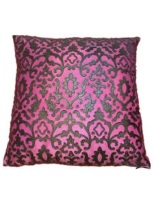 Sr-C170521-5 Filled Laser PU Decorative Cushion pictures & photos