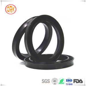 Black NBR U Cup Rubber Seal with RoHS Report pictures & photos