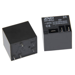 4115k (T91) 30A 24V Miniature Power Relay for Household Appliances pictures & photos