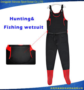 Men Neoprene Vest Sleeveless Hunting Fishing Diving Boots Wetsuit pictures & photos