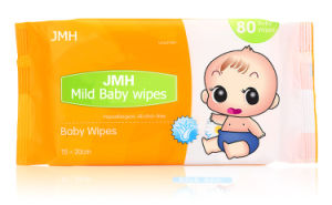 80PCS Nonwoven Tender Baby Wet Wipes OEM Manufacturer (BW010) pictures & photos