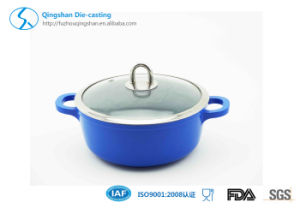 Classic Professional Aluminum Non-Stick Coating Sauce Pan with Soup Pan pictures & photos