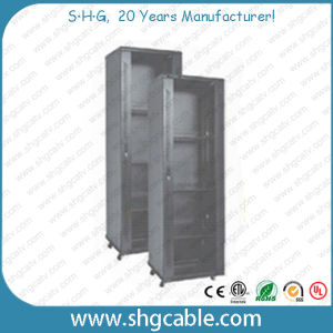 19′′ Rack Network Sever Cabinet with Powder Coat pictures & photos