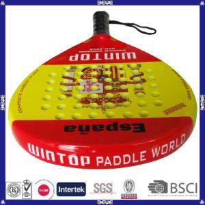 Btr-4016 Espain Round Shape Popular Padel Racket pictures & photos