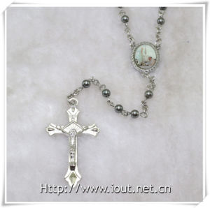Pope Francis Rosary with Plastic Small Beads (IO-cr384) pictures & photos