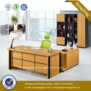 Wooden Melamine Office Furniture Executive Office Table (HX-GD044) pictures & photos