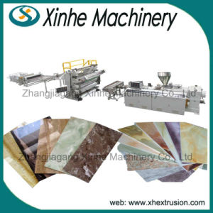 PVC Decorative Marble Board Making Machine / PVC Imitation Marble Sheet Production Line pictures & photos