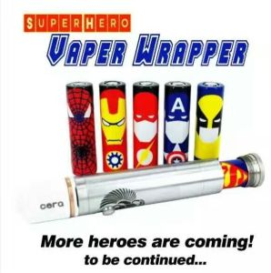 Vaper Wrappers Stickers for Battery 18650 Battery Label Stickers pictures & photos