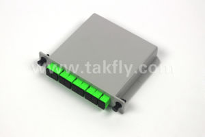 Pon 1X8 Lgx Card Insertion Fiber Optic Cassette PLC Splitter pictures & photos