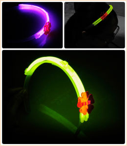 Fashionable 8′′ Glow Hairpin for Kids Ornaments pictures & photos