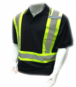 High Visibility Reflective Safety T-Shirt with ANSI & En20471 Approval pictures & photos