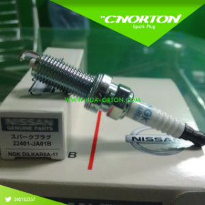 Ngk Spark Plug for Nissan 22401-Ja01b Dilkar6a11 pictures & photos