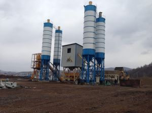 Concrete Mixed Batching Station pictures & photos