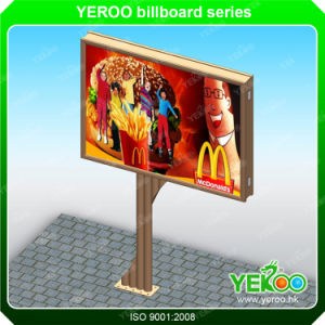 Double Side Billboard-New Design LED Backlit Board-Advertising Billboard pictures & photos