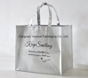 Metallic Non Woven Bag Carrier Bag with Big Capacity pictures & photos