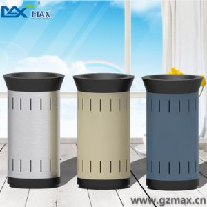 Novelty 1 Separate Public Classified Metal Stainless Steel Office Customized Recycling Rubbish Bin pictures & photos