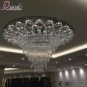 Big Size Modern Glass Crystal Pendant Lamp Project with Hotel pictures & photos