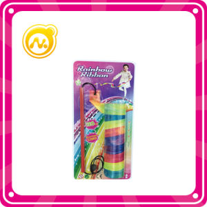 Colorful Rainbow Ribbon 120 Cm Dance Rhythmic Gymnastics pictures & photos