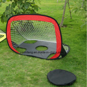 Advertisement Tent Custom Made Portable 2 in 1 Soccer Training Goal pictures & photos