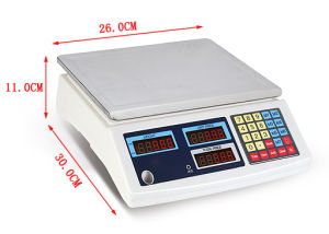 Patented Product Double Frame Price Computing Weighing Scale pictures & photos