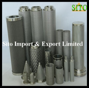 Stainless Steel Wire Mesh Cylinder Mini Filter pictures & photos