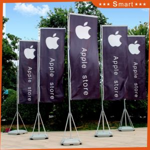 Outdoor Advertising Fiberglass Pole Feather Polyester Flag Teardrop Flag pictures & photos