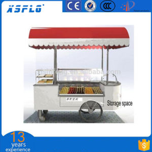 LED Light Ice Cream Cart for Sale/Gelato/Ice Stick Display pictures & photos