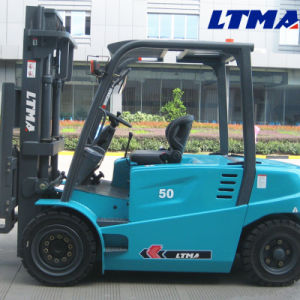 New 5 Ton Battery Operated Forklift for Sale pictures & photos
