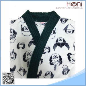 Newest Design Wholesale Bathrobe Night Dress Sleepwear for Kids pictures & photos