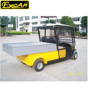 Utility Golf Cart with Rear Cargo Bed pictures & photos