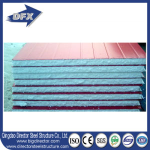 Fireproof Thermal Insulation EPS /PU/ Fiber Glass Wool Sandwich Panels for Wall Board pictures & photos