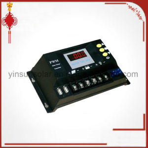 PWM 12V or 24V 30A LED Screen Solar Charge Controller pictures & photos