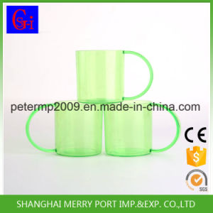 360ml 12oz Custom Plastic Drinking Mug with Handle for Sublimation pictures & photos