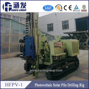 Hfpv-1 Hydraulic Crawler Drilling Rig for Photovoltaic Pile Project pictures & photos