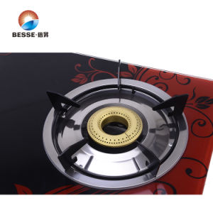 Double Burner Gas Stove, Glass Material pictures & photos