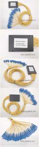 Gpon Telecommunication 1X32 Plastic Box PLC Splitter Opticial Fiber Patch Cord pictures & photos