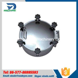 High Quality 316L Tank Vessel Pressure Man Hole pictures & photos