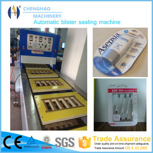 Turntable 12 Working Stations Blister Sealing Machine for Toothpaste and Cosmetic Packaging pictures & photos