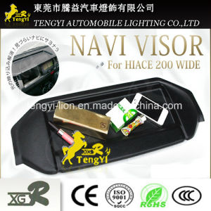 Sunshade for Car Navigator for Toyota Hiace Navi Vision GPS Navigation pictures & photos