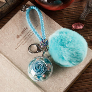 Promotion Preserved Flower Keychain for Decoration pictures & photos