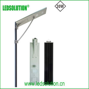 30W Solar Street Power Outdoor Integrated LED Light pictures & photos
