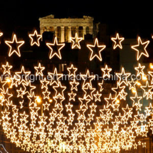 Low Cost Holiday Lighting LED Star Christmas Decorations pictures & photos