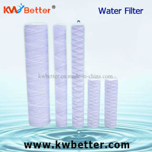 "Water Filter Cartridge Yarn with PP String Wound 10"" 20"" pictures & photos"