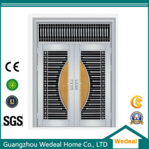 Double Entrance High Security Stainless Steel Door pictures & photos