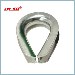 Us Type Heavy Duty Stainless Wire Rope Thimble pictures & photos
